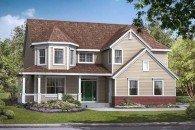 Fairfield two story home design, Joseph Douglas Homes, Milwauke and Waukesha, WI