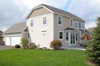 Rear Elevation, Joseph Douglas Homes, Milwauke and Waukesha, WI