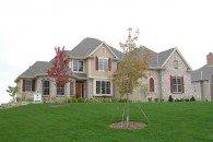 Somerset Front Elevation, Joseph Douglas Homes, Milwauke and Waukesha, WI