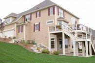 Somerset Rear Elevation, Joseph Douglas Homes, Milwauke and Waukesha, WI