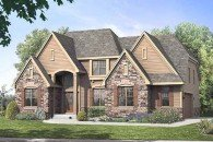 Stanton two story home design, Joseph Douglas Homes, Milwauke and Waukesha, WI