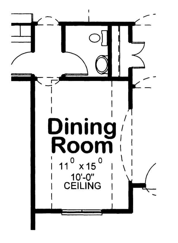 McAllister Opt Dining Rm