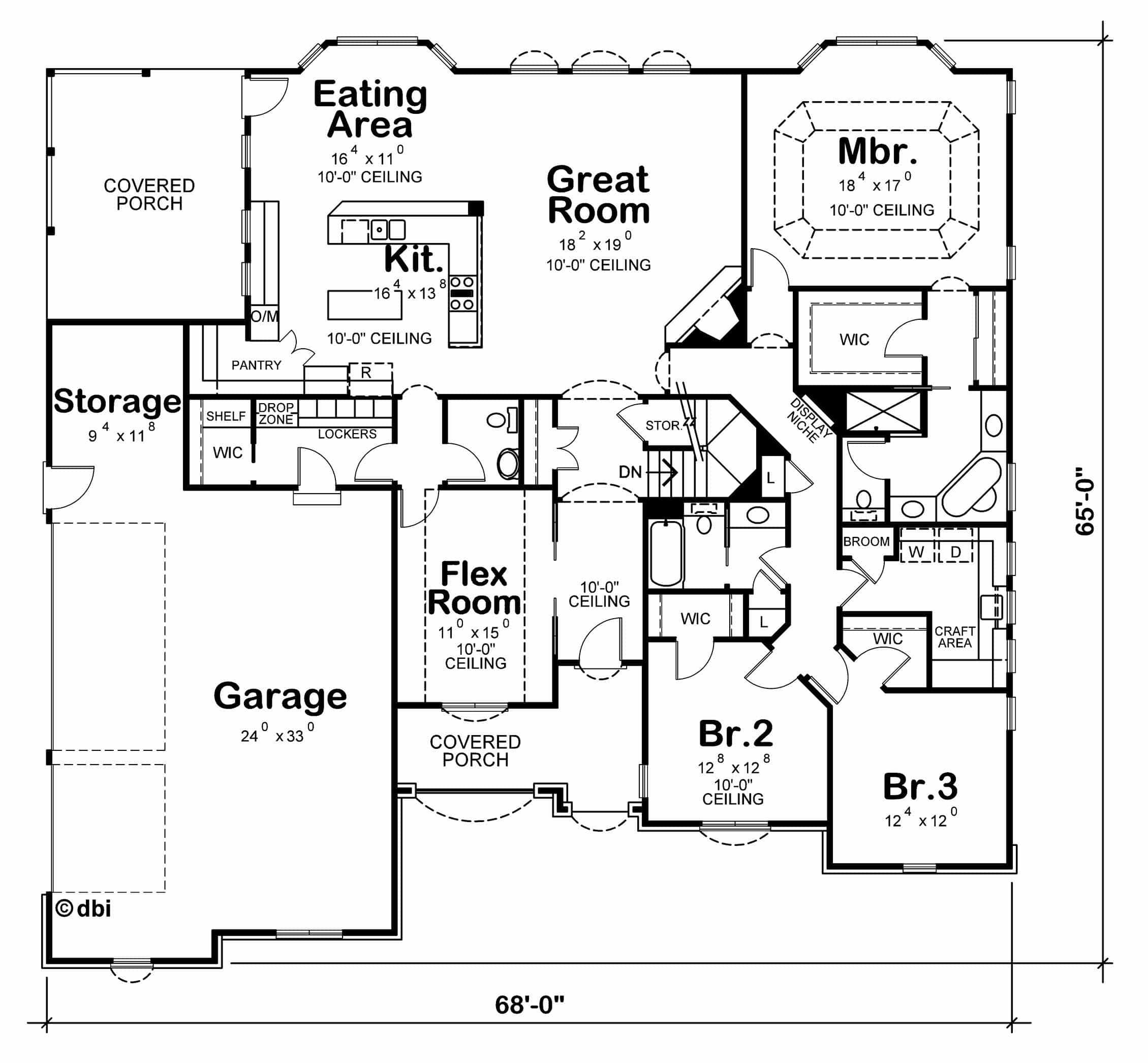 McAllister Floor Plan