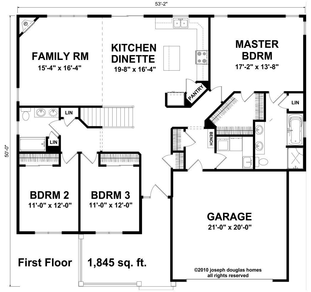 1845 coventry joseph douglas homes for Coventry federal plans