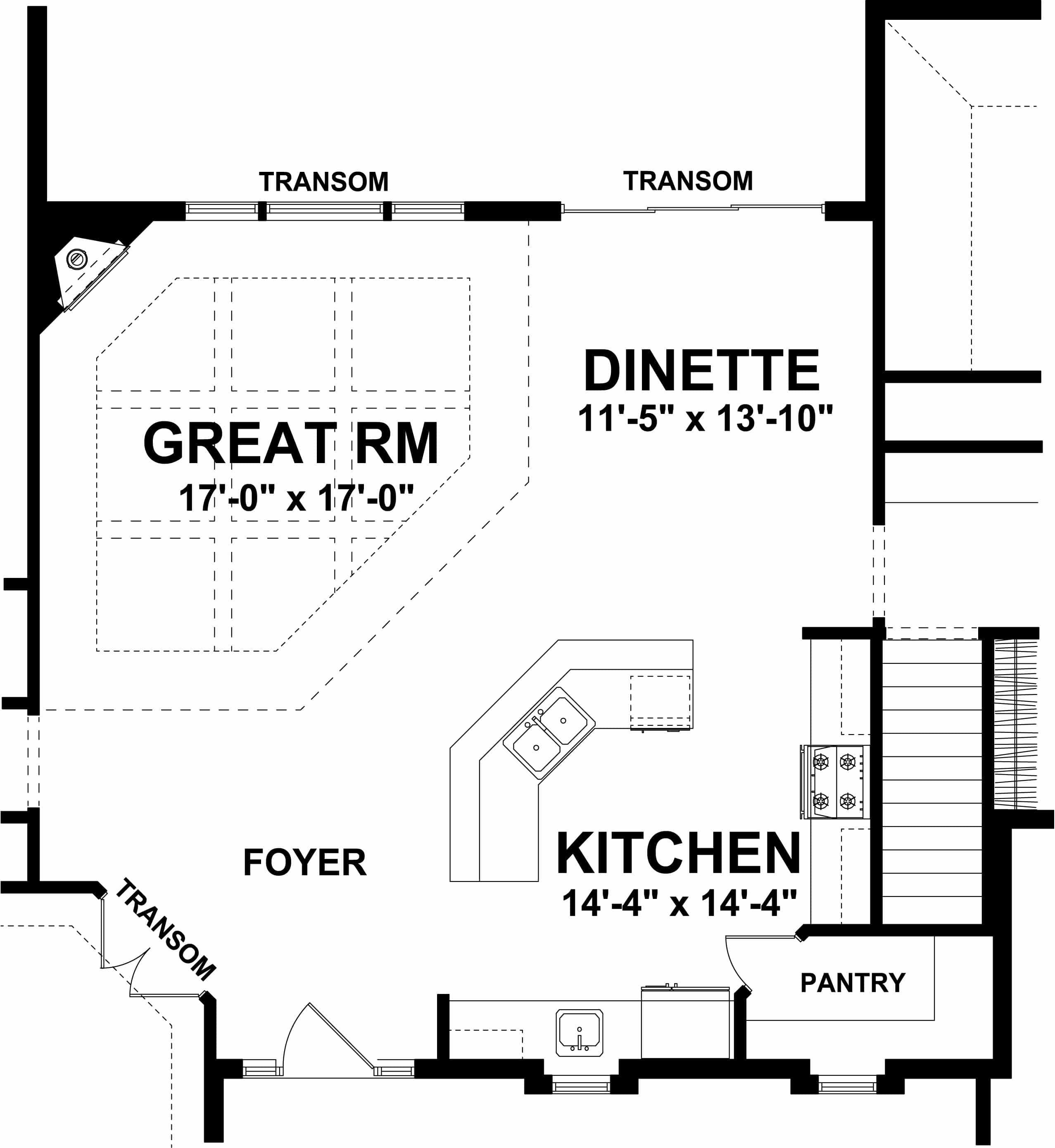 Camden - open kitchen