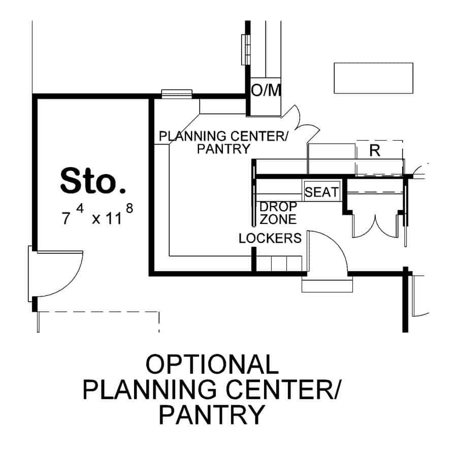 McAllister Opt Pantry