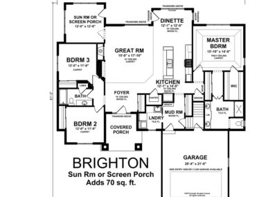 Brighton-floorplan-Sunroom-Screen-Porch-option