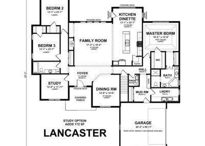 Lancaster-floorplan-study-option