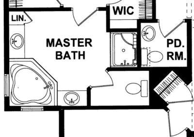 Newberry Deluxe Master Bath Option