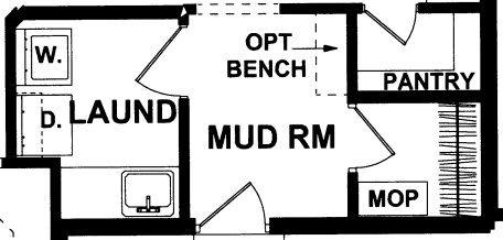 Newberry Mudroom Option