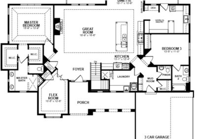 1st floor - floor plan