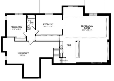 Basement - floorplan