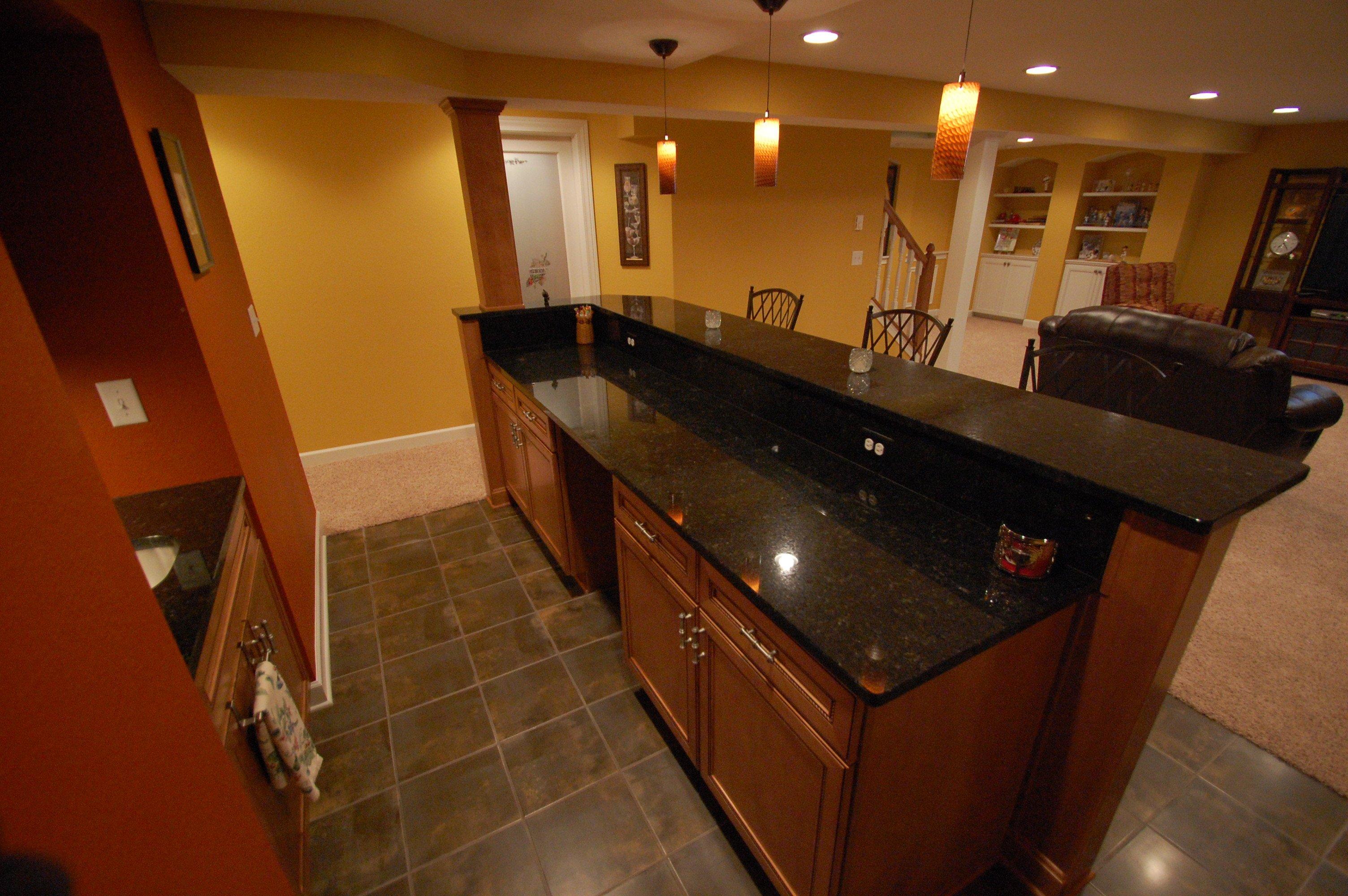basement redmodeling